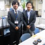 冨田支部長と高島総務部長